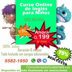 Curso online de ingles para niños