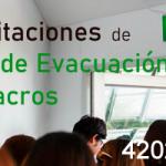 Capacitación Rutas de Evacuación y Simulacros
